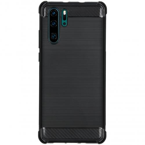 Xtreme Softcase Backcover voor Huawei P30 Pro - Zwart