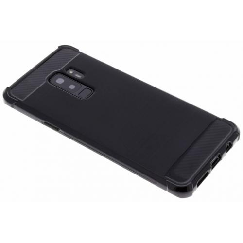 Xtreme Softcase Backcover voor Samsung Galaxy S9 Plus - Zwart