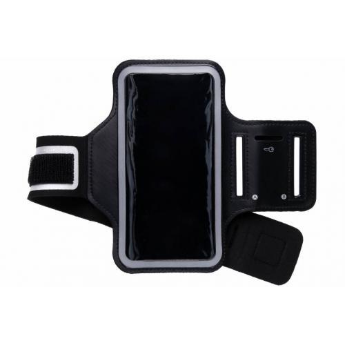 Zwarte sportarmband voor de Samsung Galaxy Note 9