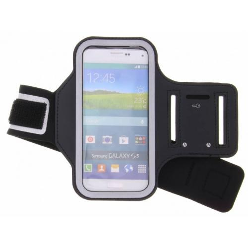 Zwarte sportarmband voor de Samsung Galaxy S5