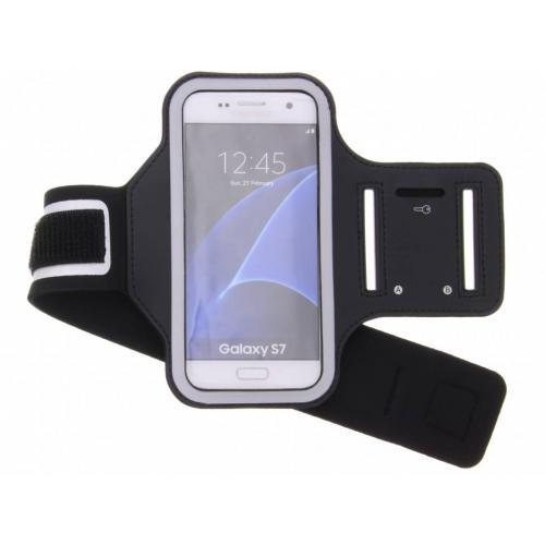 Zwarte sportarmband voor de Samsung Galaxy S7