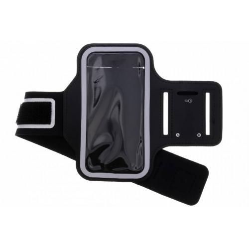 Zwarte sportarmband voor de Samsung Galaxy S9 Plus