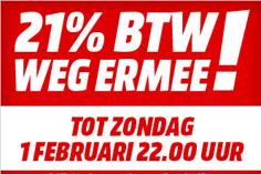 21% BTW Weg ermee (Actie afgelopen) afbeelding