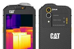 Eerste smartphone met FLIR camera (hitte detectie) afbeelding