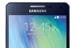 Samsung komt met metalen Galaxy A3, A5 en A7 afbeelding