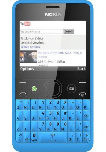 Nokia Asha 210 Cyan Qwerty