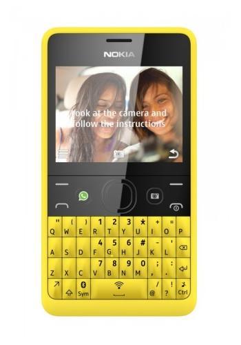 Nokia Asha 210 Yellow Qwerty