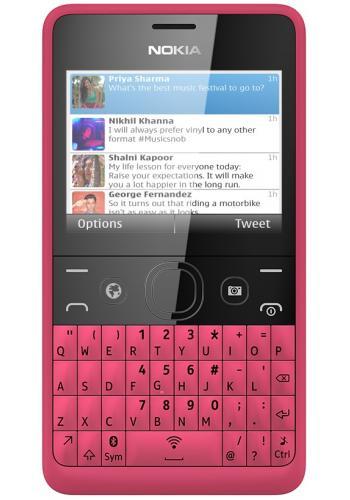 Nokia Asha 210 Pink