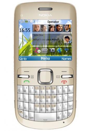 Nokia C3-00 Golden White