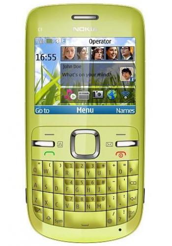 Nokia C3-00 Lemon